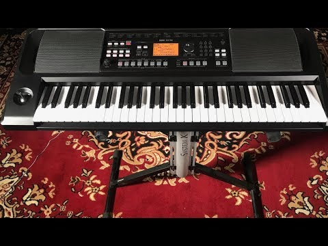 KORG EK-50: The Keyboard for Entertainers