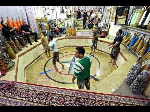Iranian Men Kabbadeh Training - YouTube