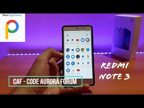 Pixel Experience 9 0 Pie On Redmi Note 3 || How To Flash
