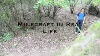 MINECRAFT IN REAL LIFE (part 1)