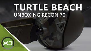 Unboxing zum Turtle Beach Recon 70