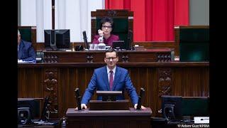 Mateusz Morawiecki podczas 8. posiedzenia Sejmu – druga wypowiedź