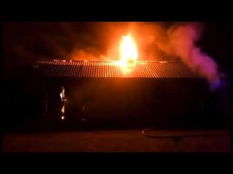 В Черкасской области спасатели ликвидировали пожар в храме
