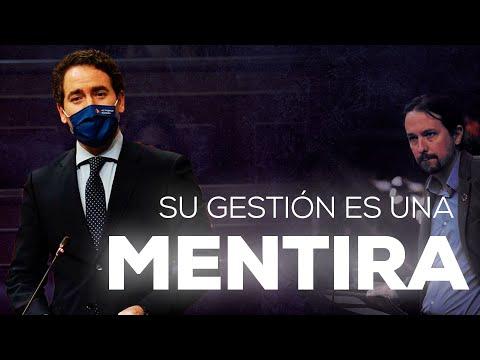 La gestión de Pablo Iglesias es una mentira