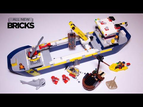 Vidéo LEGO City 60266 : Le bateau d'exploration océanique