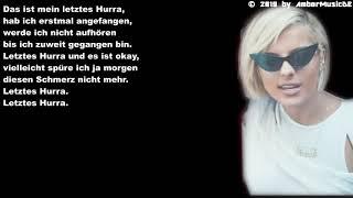 Bebe Rexha   Last Hurrah (Deutsche Übersetzung)