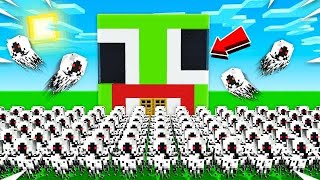 GHOST TAKE OVER MY MINECRAFT HOUSE!