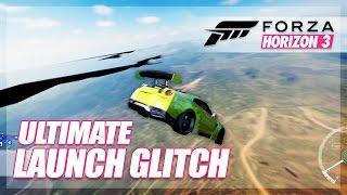 Forza Horizon 3 - Ultimate Launch/Air Glitch! (Glitches & Random Fun)