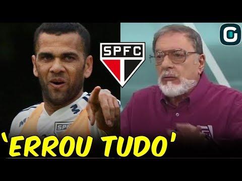 """""""NÃO acertou um passe, ERROU tudo"""", dispara Alberto Helena sobre Daniel Alves (19/09/19)"""