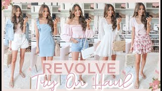 REVOLVE TRY ON HAUL 2020 | *CUTEST* SUMMER OUTFITS!! 🌺