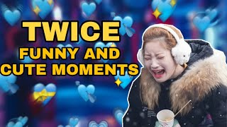 TWICE FUNNY AND CUTE MOMENTS [ENG SUB]