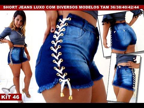 Top 7 os sete shorts jeans mais lindos da alta temporada 2ª parte, vendoatacado.com 85 98773 4877