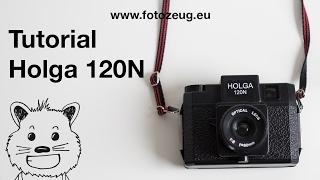 Holga 120N - Tutorial