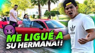 SALÍ CON LA HERMANA DE PERICH 😈   ASÍ REACCIONÓ!!
