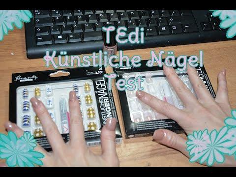 TEDI: Künstliche Nägel TEST💅🏻