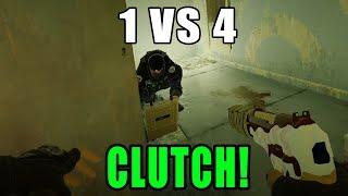 Perfect Clutch! - Rainbow Six Siege Gameplay