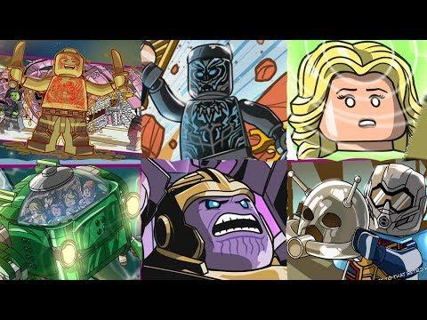 LEGO Marvel Superheroes 2 - ALL SECRET CHARACTERS - NPC
