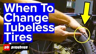 When To Change Your Tubeless Tire And How To Do It