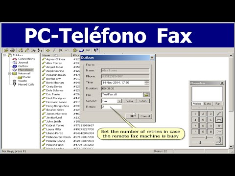 Mass Fax Broadcasting Software por VoIP RDSI PC-Teléfono Tutorial