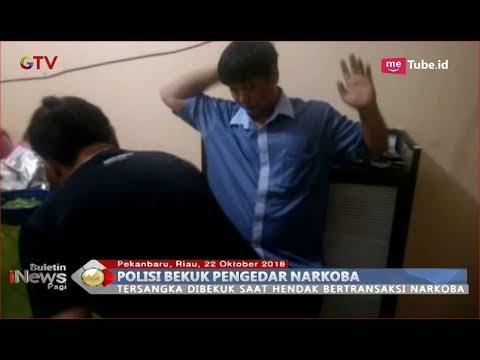 Kanit Narkoba Polresta Pekanbaru Berhasil Bekuk Pengedar saat Transaksi Narkoba - BIP 22/10