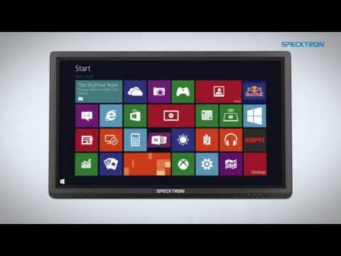 SPECKTRON - Multi Touch Interactive Flat Panel Display