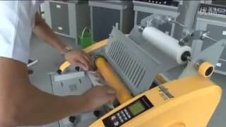 3816 standard manual for semi-auto laminating machine