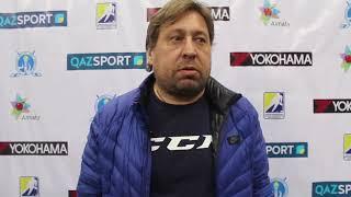 Помощник тренера «Арлана» Коваленко Олег прокомментировал матчи против «Алматы»