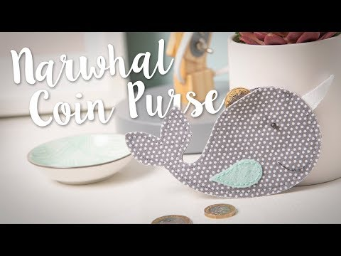 How to Make this Narwhal Coin Purse!
