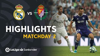 Sergi Guardiola gives an important point to Valladolid in Santiago Bernabeu Stadium J02 LaLiga Santander 2019/2020  Subscribe to the Official Channel of LaLiga Santander in HD | 2019-08-24 00.00h | J02 | RMA | VLL LaLiga Santander on YouTube: http://goo.gl/Cp0tC LaCopa on YouTube: http://bit.ly/1P4ZriP LaLiga SmartBank on YouTube: http://bit.ly/1OvSXbi Facebook: https://www.facebook.com/LaLiga Twitter: https://twitter.com/LaLiga Instagram: https://instagram.com/laliga Google+: http://goo.gl/46Py9