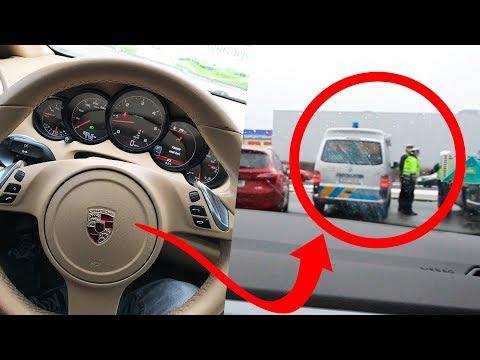 JÍZDA V PORSCHE!!! + POLICIE?!!  | Vlog #029