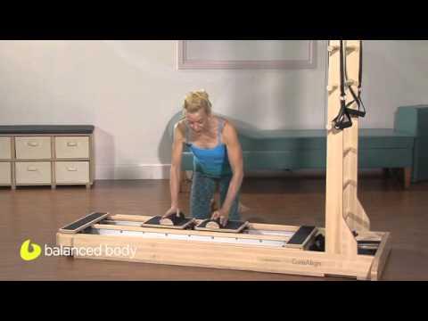 תרגילי קוראליין לחיזוק הכתפיים ושרירי הליבה