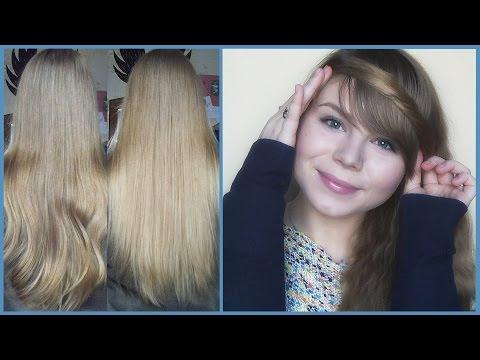 Осветление волос Перекисью! Натуральное Омбре!