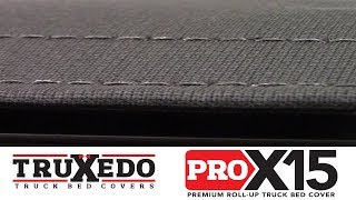 In the Garage™ with Total Truck Centers™: TruXedo Pro X15 Premium Roll-Up Truck Bed Cover