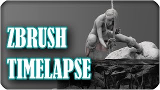 Gambar cover Zbrush Timelapse Sculpt + Keyshot | Era - My first model through to be figure