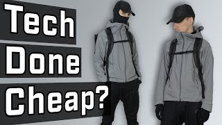 BUDGET TECHWEAR OUTFIT CHALLENGE