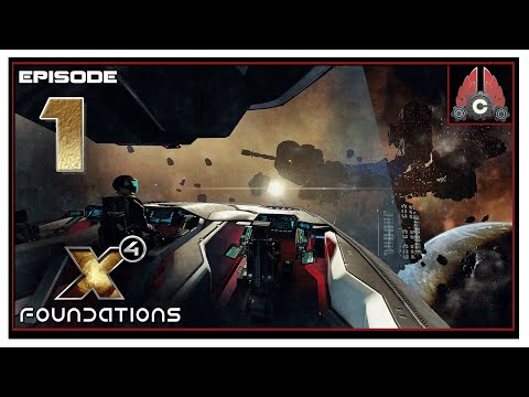 Let's Play X4: Foundations Split Vendetta (2020 Run) With CohhCarnage - Episode 1