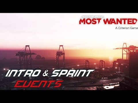 Need For Speed: Most Wanted (2012) - Intro & Sprint Events (PC)