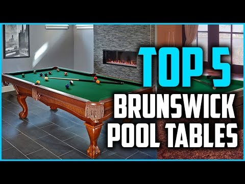 Top 5 Best Brunswick Pool Tables In 2018 Mp3