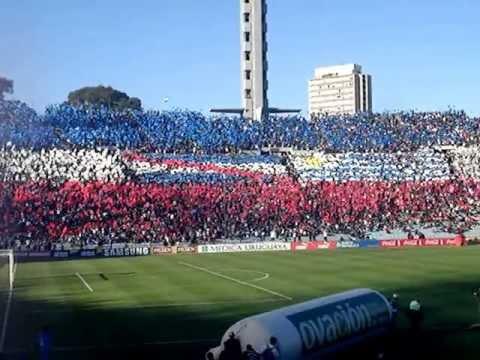 """""""Recibimiento del Club Nacional de Football - Clásico Clausura '13"""" Barra: La Banda del Parque • Club: Nacional"""