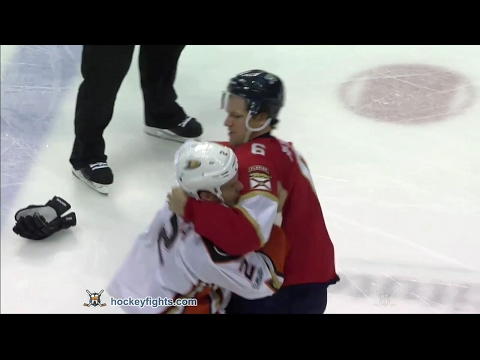 Alex Petrovic vs. Kevin Bieksa