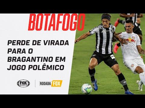 BOTAFOGO PERDE DE VIRADA PARA O BRAGANTINO EM JOGO POLÊMICO   Rodada FOX