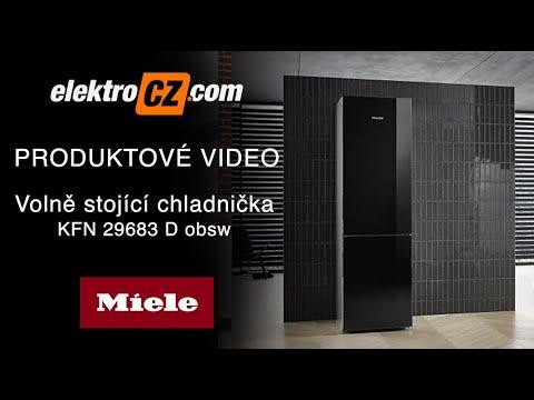 Volně stojící chladnička KFN 29683 D obsw