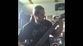 Video posthmortem disfigurement guitars