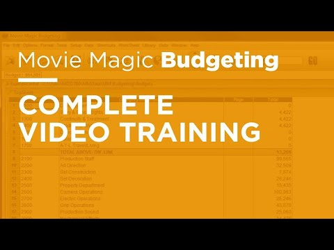 Legacy Movie Magic Budgeting - Complete Video Training - YouTube