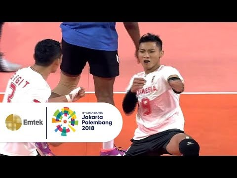 Highlight Bola Voli Putra - Indonesia Vs Thailand | Asian Games 2018