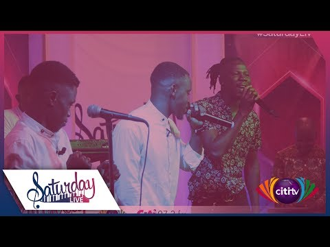 Stonebwoy and Nkyinkyim perform on Saturday Live