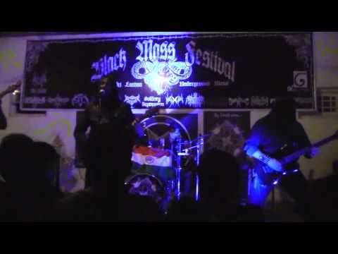 1833 AD - Who Will Kill The Emperor ( live at Black Mass Festival, Colombo Sri Lanka)