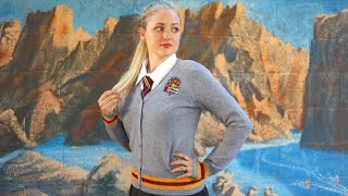 How To Make A Harry Potter Costume! DIY Gryffindor Sweater!
