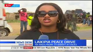 Laikipia leaders promote tourism and peace by holding a peace drive rally