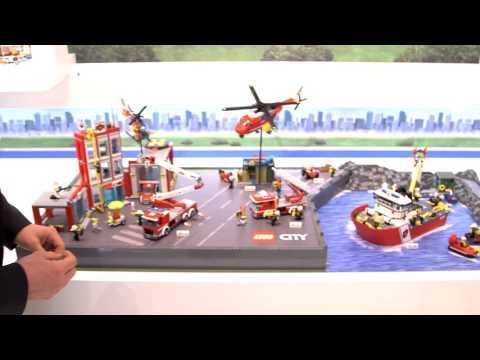 Messeblick.TV - LEGO City & LEGO Duplo auf der Spielwarenmesse 2016 in Nürnberg